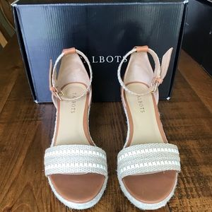 Talbots Lyndsey Woven Wedges